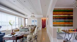 162平米欧式风格低调雅致大户型室内装修实景图欣赏
