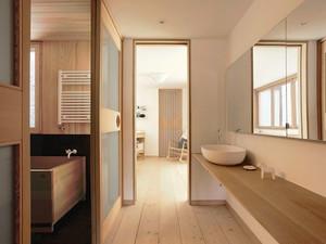 200平米日式风格简约别墅室内装修效果图