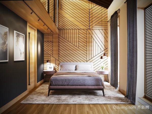 现代简约风格个性创意卧室装修效果图大全