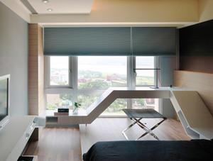 140平米现代风格简约精致跃层设计装修效果图