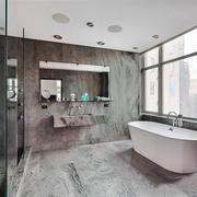 12平米现代风格精致卫生间装修效果图鉴赏