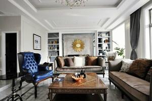 159平米新古典主义风格大户型室内装修效果图