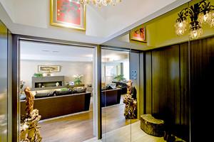 130平米新中式风格精致两室两厅室内装修效果图
