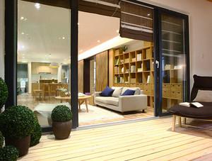 104平米宜家风格简约四室两厅室内装修效果图