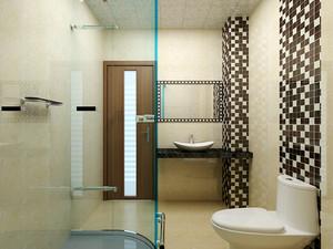 114平米中式风格精致三室两厅室内装修效果图案例