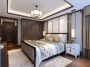 中式风格古典雅致卧室装修效果图欣赏