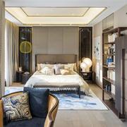 中式风格大户型精致主卧室装修效果图赏析