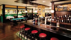 美式风格精致复古酒吧装修效果图
