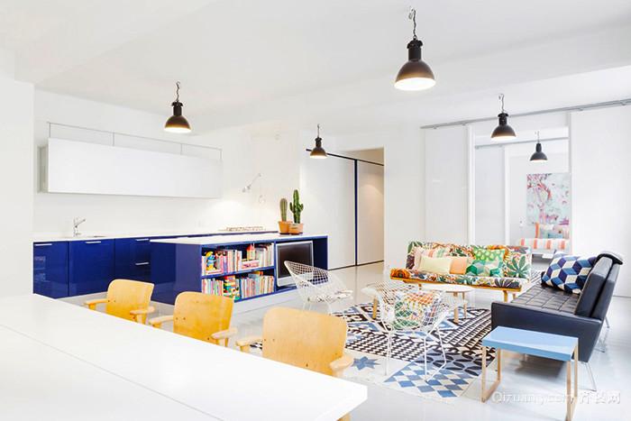 北欧风格清新时尚客厅装修效果图赏析