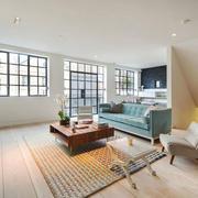 北欧风格装修复式楼室内客厅装修效果图赏析