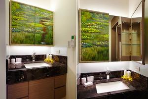 100平米现代风格精装室内装修效果图案例