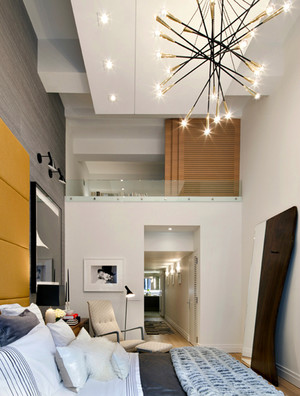 167平米现代风格精致跃层室内设计装修效果图