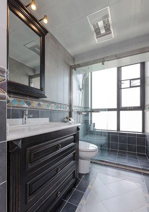 美式风格精致两室两厅两卫装修效果图赏析