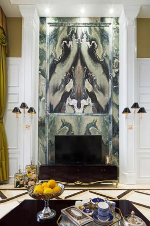 230平米欧式风格精致别墅室内装修效果图赏析