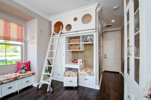 20平米欧式风格精美儿童房装修效果图赏析