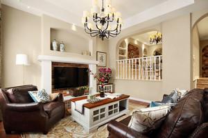 欧式风格精致复式楼室内装修效果图赏析