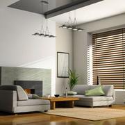 现代风格简约小户型客厅装修效果图