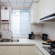 8平米现代简约风格小户型厨房装修效果图