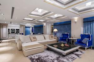 新古典主义风格大户型精致客厅装修效果图鉴赏