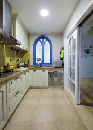 地中海风格精致厨房装修效果图赏析