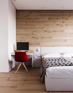 后現代風格冷色調臥室裝修效果圖大全