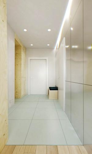 43平米现代简约风格单身公寓装修效果图赏析