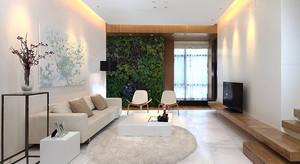 126平米现代简约风格小复式楼室内装修效果图