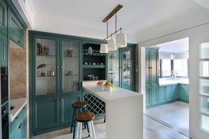 美式风格时尚复古室内吧台设计装修效果图