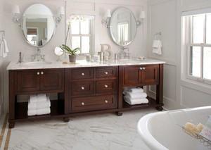 美式风格精致大户型卫生间装修效果图大全