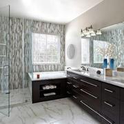 美式风格精致大户型卫生间装修效果图赏析