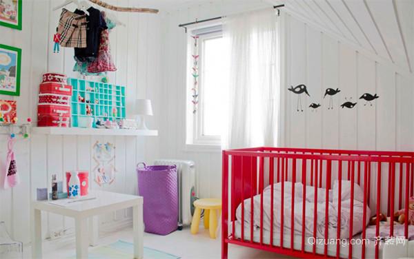 欧式风格可爱时尚儿童房装修效果图大全