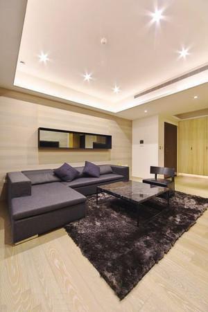 77平米日式风格简约两室两厅室内装修效果图