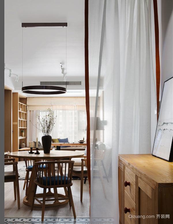 宜家风格简约温馨两室两厅室内装修效果图