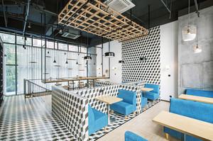 56平米现代简约风格餐厅装修效果图