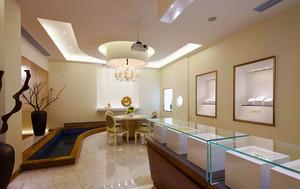 欧式风格精致珠宝店展柜设计效果图