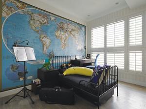 现代风格时尚儿童房装修效果图