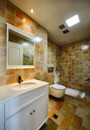 98平米混搭风格时尚个性三室两厅室内装修效果图