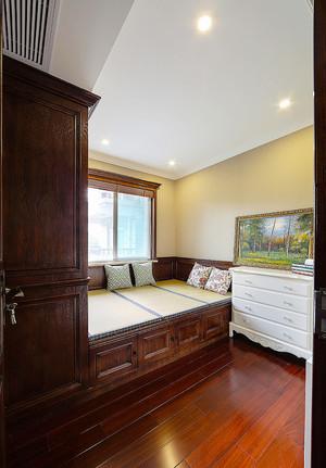 137平米美式风格精致四室两厅室内装修效果图赏析