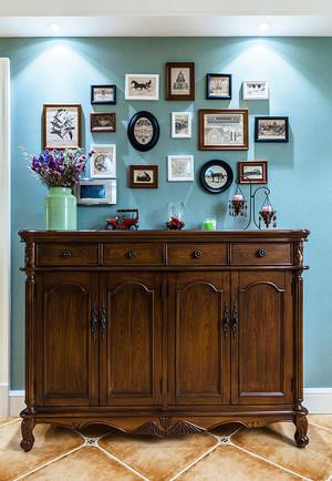 美式田园风格精致三室两厅室内装修效果图赏析