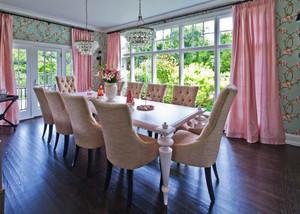 欧式风格别墅室内精美餐厅装修效果图