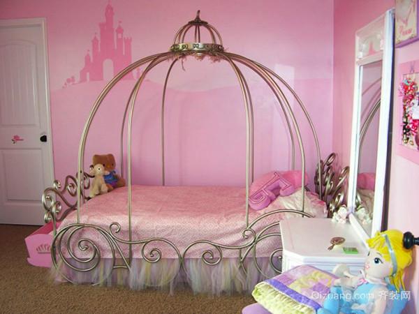 欧式风格甜美温馨儿童房设计装修效果图赏析