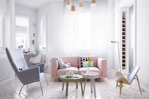 清新风格时尚单身公寓装修效果图赏析