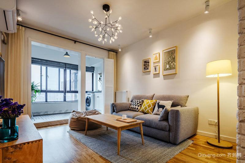 日式风格简约小户型客厅装修效果图赏析