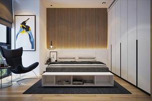现代风格时尚卧室装修效果图赏析