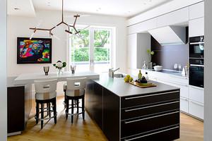 200平米现代风格精致别墅室内装修效果图