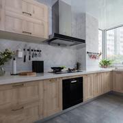 现代简约风格浅色整体厨房装修效果图赏析