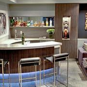 现代风格时尚室内吧台装修效果图赏析