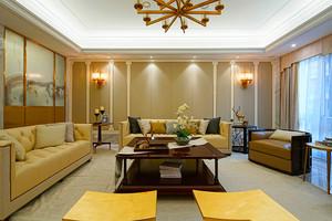 120平米新中式风格精致室内室内装修效果图案例