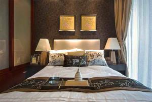 100平米新中式风格精致室内装修效果图案例