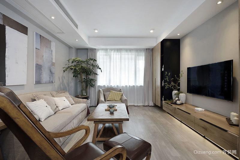 79平米宜家风格简约两室两厅室内装修效果图